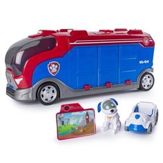 Paw Patrol Mission Paw Mission Cruiser Robo Dog and Vehicle, Multicolor