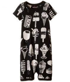 Rock Your Baby The Cool Kids Playsuit (Infant) (Black) Boy's Jumpsuit & Rompers One Piece