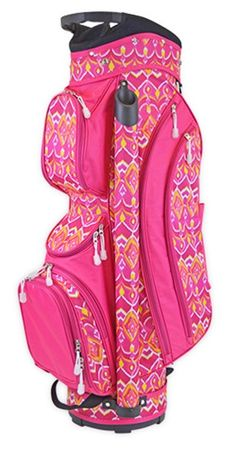 Ikat Sunrise All For Color Ladies Cart Golf Bag at #lorisgolfshoppe