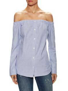 off the shoulder shirt