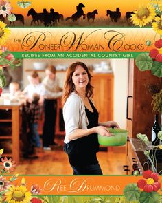 Ree Drummond, The Pioneer Woman Cook, includes recipes, stories, and photographs from an accidental country girl. Her work is inspiring this ranch girl to come back to the kitchen. She makes you smile while joyfully making great food. Through great visuals and stories I am duplicating her works of art and actually earning family request! You can't help but enJOY.
