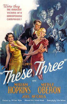 These Three (1936) ~ Bizarre Los Angeles