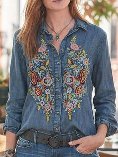 Shirts & Tops, Shirt Blouses, Casual Shirts, Denim Shirts, Casual Sweaters, Denim Jeans, Casual Tops For Women, Blouses For Women, Chemises Country