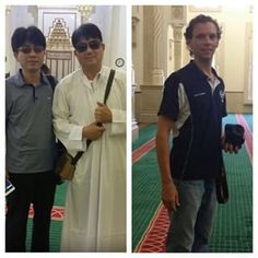 Guests from #Korea #Australia visit #AlNoormosque #welcome #nationalities #diverse #cultural #understanding #learning #exploring #education #beauty #mosque #architecture #domes #minarets #mihrab #minbar #islam #travel #tours #tourism #Sharjah