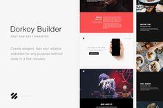 Dorkoy Builder - 40% Off Now by Dorkoy on @creativemarket
