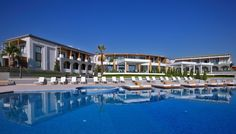 Cavo Olympo is located in Litochoro,in a private cove with a magnificent view of the Aegean Sea. Pamper yourself in Oliving Spa & relax by our infinity pool. Hotel Spa, Greece, Relax, Mansions, Luxury, House Styles, Home Decor, Holidays, Greece Country