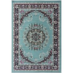 Found it at Wayfair - Paterson Blue Area Rug