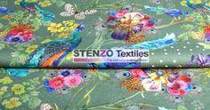 Stenzo17 3820-10 Tricot digitaal pauw groen/multi