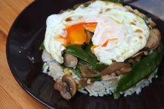 Upside Down Rice Dish- My blog post for JamieOliver.com http://www.jamieoliver.com/newsandblogs/blogs/bol-devire-recipe/