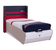 Cilek First Class Airplane Twin Panel Bed with Mattress Bed Storage, Storage Chest, First Class, Panel Bed, Kid Beds, Cool Kids, Toddler Bed, Design, Furniture