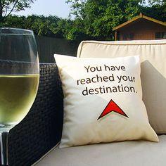 <3 Sat Nav cushion