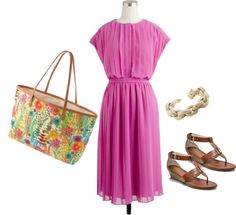 """""""Dreaming of summer..."""" by jcrewjd ❤ liked on Polyvore"""