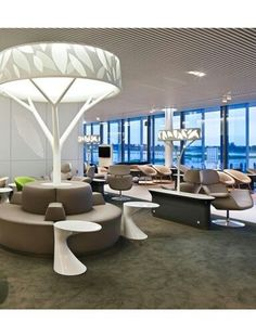 Airport Lounge: