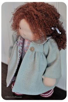 Iva Rose by Millie's Dollhouse - Waldorf Inspired Dolls, via Flickr