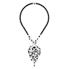 Jewellery necklace Chanel Revives Art Deco Glamour in Café Society Collection