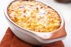 This Tuna Casserole is a TOTAL crowd pleaser!! Only 301 calories per serving and made with low-fat dairy products