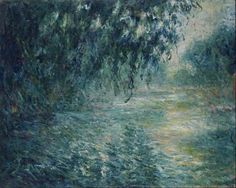Claude Monet Morning on the Seine,1898 / painting /