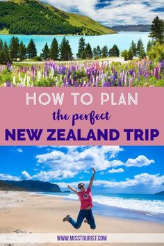 Planning the perfect trip to New Zealand can be overwhelming. Having been there and having made some mistakes, I know now what was done right and what should've been planned better.  Use my tips & tricks for the perfect itinerary!  Travel | South Island | Road Trip | Living | New Zealand | Photography | Things To Do In | Queenstown | Wellington | Lord of the Rings