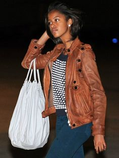 Malia Obama -- Fashion Icon and she is gorgeous!