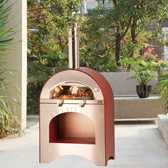 Found it at Wayfair - Forno Pizza and Brace Wood Burning Pizza Oven Outdoor Kitchen Patio, Outdoor Kitchen Design, Outdoor Dining Set, Outdoor Kitchens, Portable Pizza Oven, Pizza Ovens, Best Outdoor Pizza Oven, Outdoor Oven, Ovens