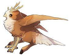 Rough Rye by Sheylu Cute Fantasy Creatures, Mythical Creatures Art, Magical Creatures, Monster Concept Art, Fantasy Monster, Cute Animal Drawings, Cute Drawings, Fantasy Character Design, Character Art