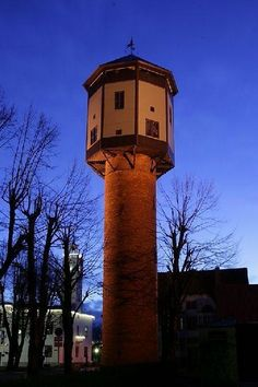 The 30m high red brick water tower was constructed in 1911 and was preserved until today with its small windows and the octangular wooden upper part.  The tower was actively used for about 50 years. After...