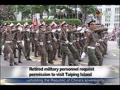 退伍軍人護主權 申請登太平島踢正步 Retired soldiers want permission to go to Taiping Isla...