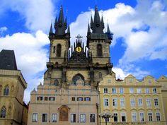 Centro histórico de Praga, República Checa - SEP 2006.
