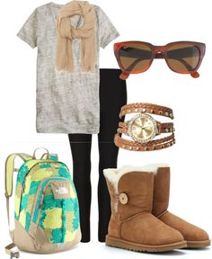"We all love fashion! get ready for summer school with ""College Outfit"" by forensicpancakes17 on Polyvore www.gobuylocal.com"