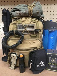 Get home bag ready to go!  #camping #hiking #bugoutbag