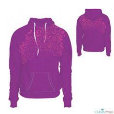 Sublimated Purple #Hoodie