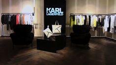 Karl Lagarfeld ouvre son concept store au 194, boulevard Saint-Germain.