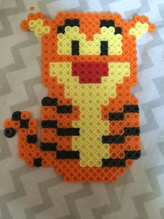 Tigger from Winnie the Pooh perler bead