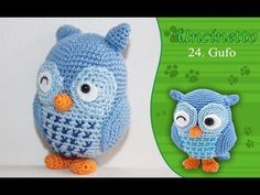 Tutorial Gufo all'Uncinetto | Crochet owl tutorial - YouTube