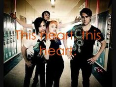 forgot how much i love paramore ...This heart, it beats, beats for only you  My heart is your's