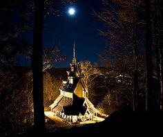 Fantoft Stavkirke  Paradis, Bergen, Norway