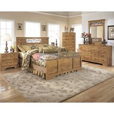 Signature Design Bittersweet B219 6 pc Queen Bedroom Set