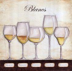 Andrea Laliberte - 'Les Vins Blancs'