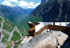 Trollstigen - Norway   Architect: Reiulf Ramstad Arkitekter