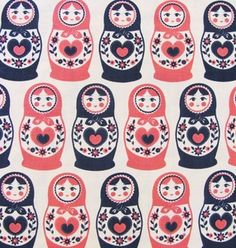russian doll fabric | Russian Doll Fabric $4.99