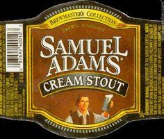 Samuel Adams Cream Stout Beer, Massachusetts, USA