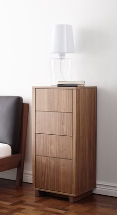 An attractive storage piece for just about anywhere in your home. The STOCKHOLM collection, 2013.
