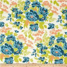 Joel Dewberry Flora Rose Bouquet Carrot
