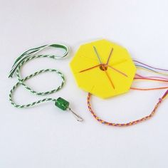 Making Friendship Bracelet with a 7-strand Braiding Disk