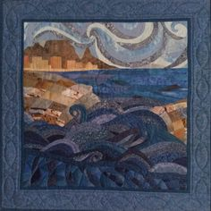 Cape of Storms by Mari Strydom Storms, Cape, Quilting, Mantle, Thunderstorms, Cabo, Patchwork, Fat Quarters, Cloak