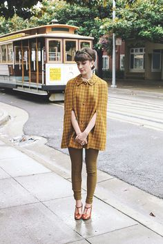 Finch & Fawn | Retro Fashion to Wear Today  Very San Fran! Not crazy about the colour, though.