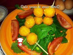 Lollipops di Parmigiano Reggiano (mini palline di Parmigiano)