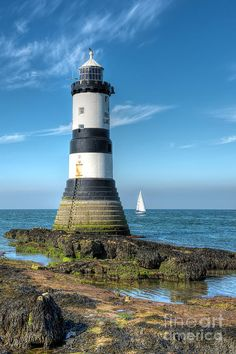 Penmon Point #Lighthouse - Ynys Môn. Anglesey. Wales