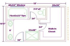 bathroom and closet floor plans free 10x18 master bathroom addition floor plan