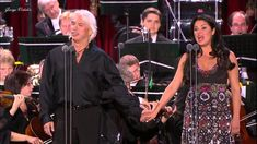Anna Netrebko and Dmitri Hvorostovsky - Moscow Nights (composed by Vasily Solovyov and poet Mikhail Matusovsk) Conductor Constantine Orbelian, 2013, Red Square, Moscow.